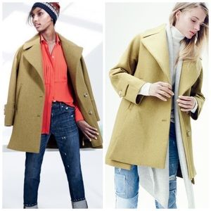 | J. Crew | Wool Melton Swing Coat